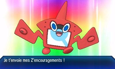 Motism'Aura Z Pokémon Ultra-Soleil et Ultra-Lune