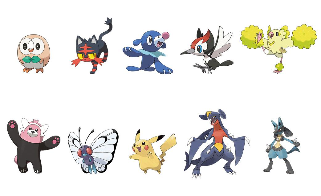 Nouveaux Pokémon Pokémon Ultra-Soleil et Ultra-Lune