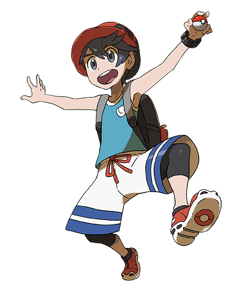 Héro Pokémon Ultra-Soleil et Ultra-Lune