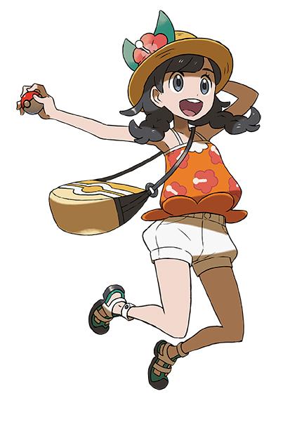 Héroïne Pokémon Ultra-Soleil et Ultra-Lune