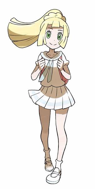 Lilie Pokémon Ultra-Soleil et Ultra-Lune