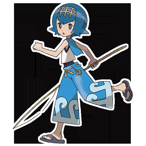 Capitaine Néphie Pokémon Ultra-Soleil et Ultra-Lune