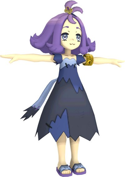 Capitaine Margie Pokémon Ultra-Soleil et Ultra-Lune