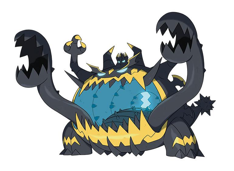 Engloutyran Pokémon Ultra-Soleil et Ultra-Lune