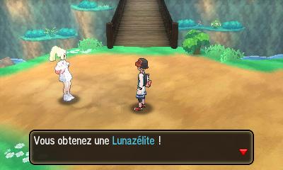 Capture de Lunala Pokémon Ultra-Soleil et Ultra-Lune