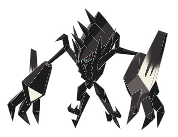 Nécrozma Pokémon Ultra-Soleil et Ultra-Lune