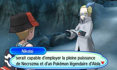 Capture de Nécrozma Pokémon Ultra-Soleil et Ultra-Lune