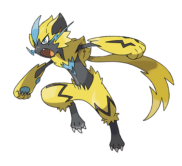 Zéraora Pokémon Ultra-Soleil et Ultra-Lune