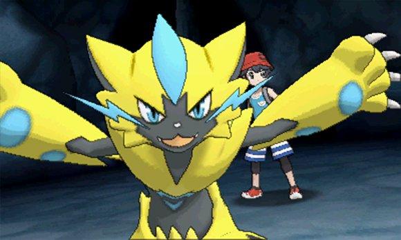 Zeraora Pokémon Ultra-Soleil et Ultra-Lune