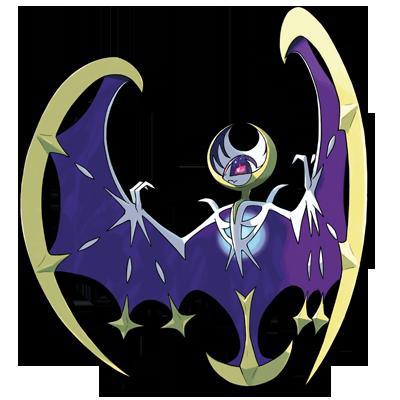 Lunala Pokémon Ultra Soleil et Ultra Lune
