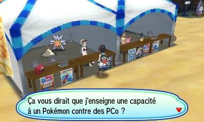 Maître des Capacités Pokémon Ultra-Soleil et Ultra-Lune