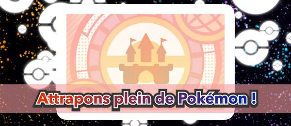 Attrapons plein de Pokémon Pokémon Ultra-Soleil et Ultra-Lune