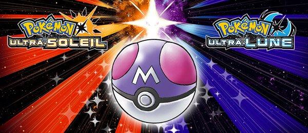 Master Ball Pokémon Ultra-Soleil et Ultra-Lune