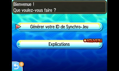 Synchro Jeu Pokémon Ultra-Soleil et Ultra-Lune