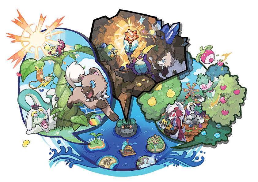 Poké Loisir Pokémon Ultra-Soleil et Ultra-Lune