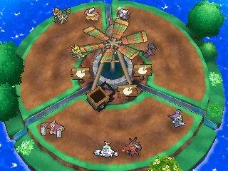 Îlot Poupousse : Niveau 3 Pokéloisirs Pokémon Ultra-Soleil et Ultra-Lune