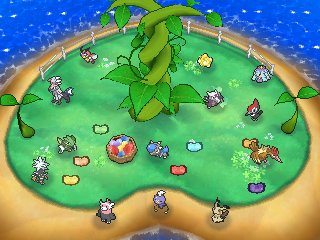 Îlot Relax : Niveau 2 Pokéloisirs Pokémon Ultra-Soleil et Ultra-Lune
