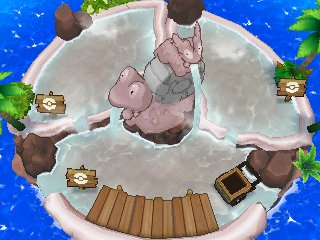 Îlot Bubulle : Niveau 3 Pokéloisirs Pokémon Ultra-Soleil et Ultra-Lune