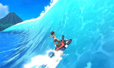 Pokémonture Surf Démanta Pokémon Ultra-Soleil et Ultra-Lune