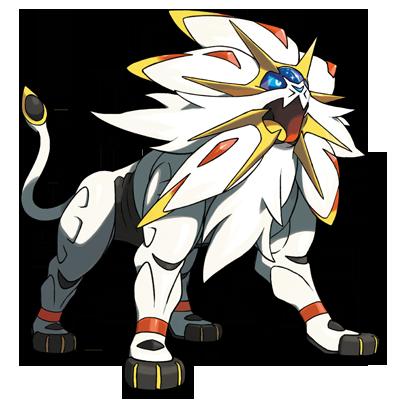 Solgaleo Pokémon Ultra Soleil et Ultra Lune