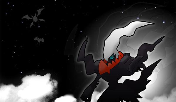 Darkrai distribué pour les 20 ans de Pokémon au mois de Mai