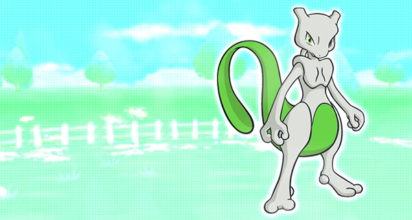 Mewtwo chromatique distribué par mail
