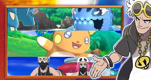 Trailer français de Pokémon Soleil et Lune du 12 Août