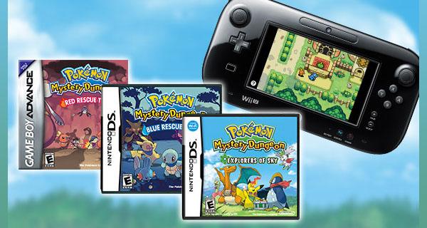 Pokémon Snap et Pokémon Donjon Mystère Explorateurs du Ciel arrivent sur Wii U