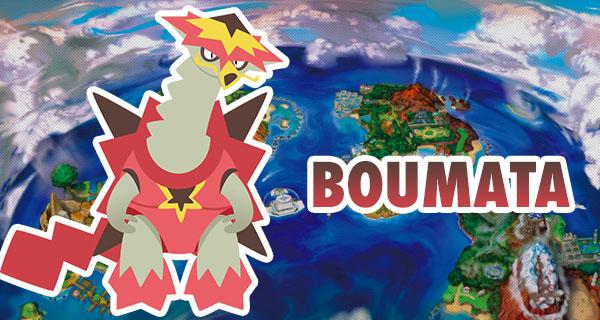 Pokémon Soleil et Lune : 1 nouveau Pokémon révélé nommé Boumata !