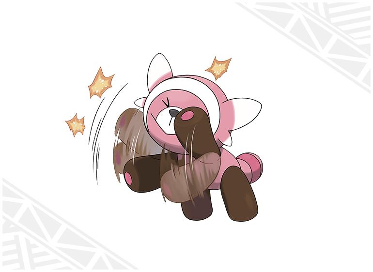 Nounourson Pokémon Soleil et Lune