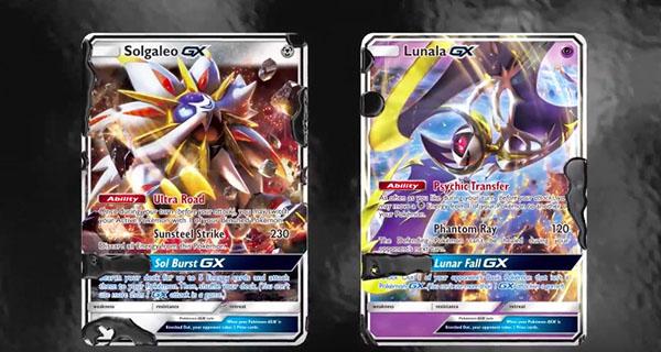 Les nouvelles cartes Pokémon-GX de l'extension Soleil et Lune du JCC Pokémon arrivent prochainement