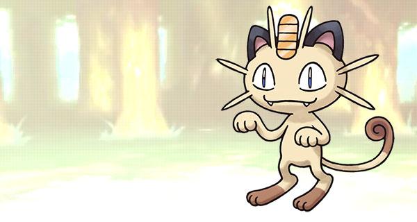 Distribution d'un Miaouss avec Etrennes sur Pokémon RO/SA et X/Y