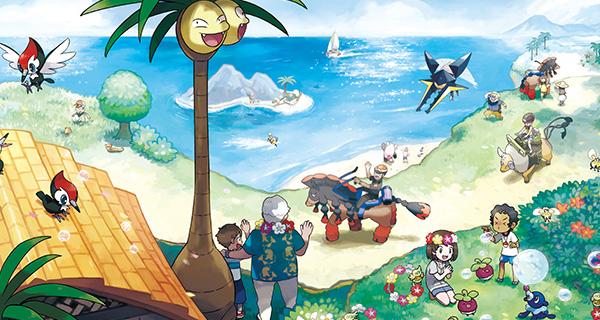 Pokémon Soleil et Lune : Ultra chimère, de nouveaux Pokémon, le Pokéscope, et de nouveaux personnages