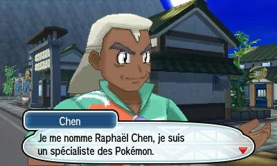Raphaël Chen Pokémon Soleil et Lune