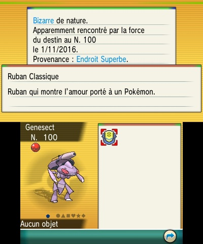 Genesect Pokemon 20