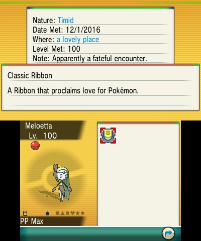 Meloetta Pokemon 20