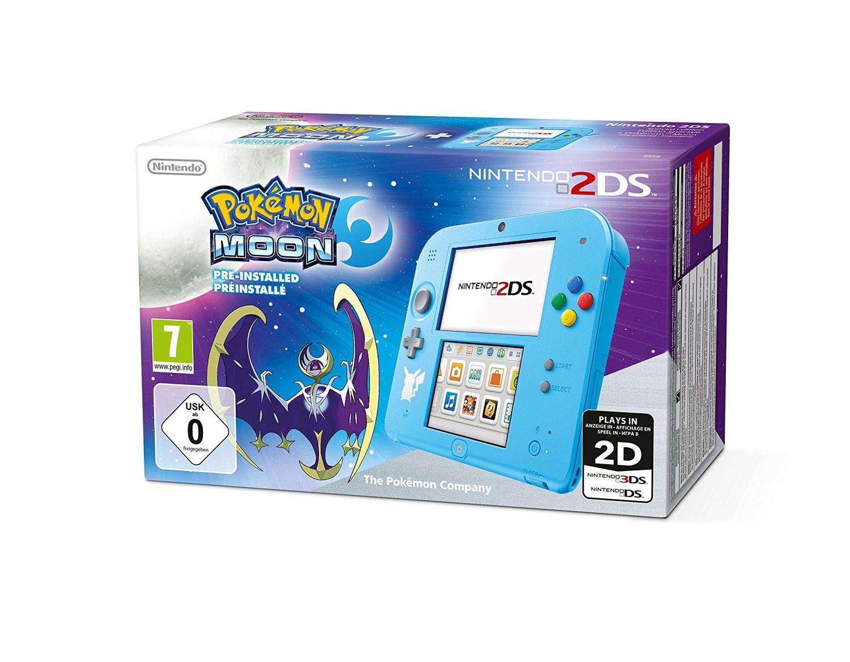 2DS avec Pokémon Lune