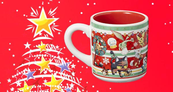 Concours Noël : un mug Christmas du Pokémon Center à gagner