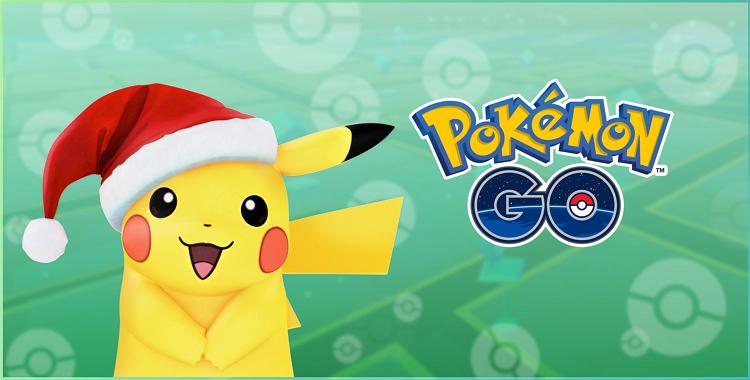 Pokémon Go Pikachu Festif