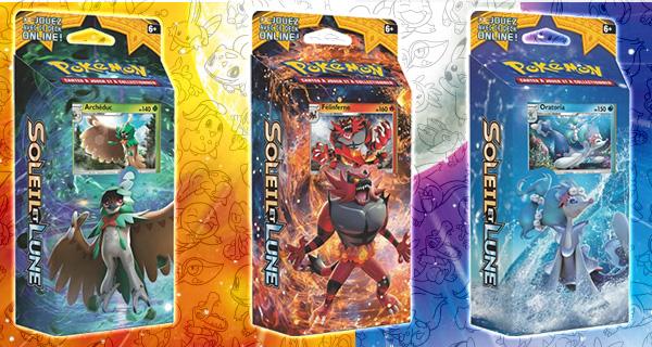 Concours : tentez de gagner l'un des 5 starters Pokémon Soleil et Lune