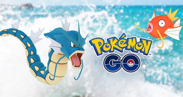 Le Festival Aquatique débarque sur Pokémon Go