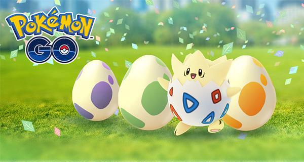 Nouvel évènement sur Pokémon Go : Le Festival des Oeufs
