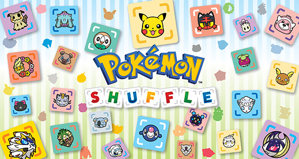 Le Pokédex d'Alola débarque dans Pokémon Shuffle