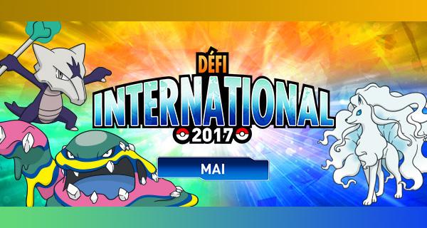 Nouvelle compétition Pokémon Soleil et Lune : Défi International de mai 2017