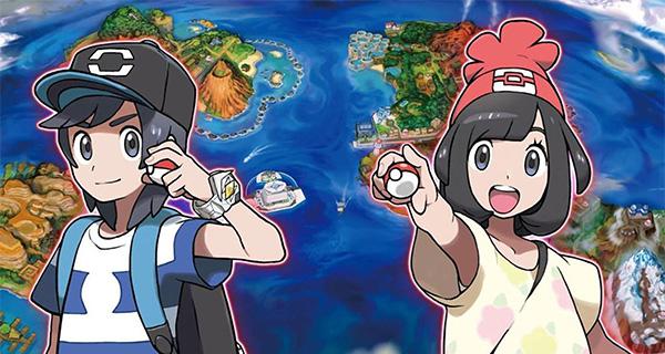 Mise à jour 1.2 de Pokémon Soleil et Lune