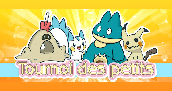 Nouvelle compétition Pokémon Soleil et Lune : le Tournoi des petits