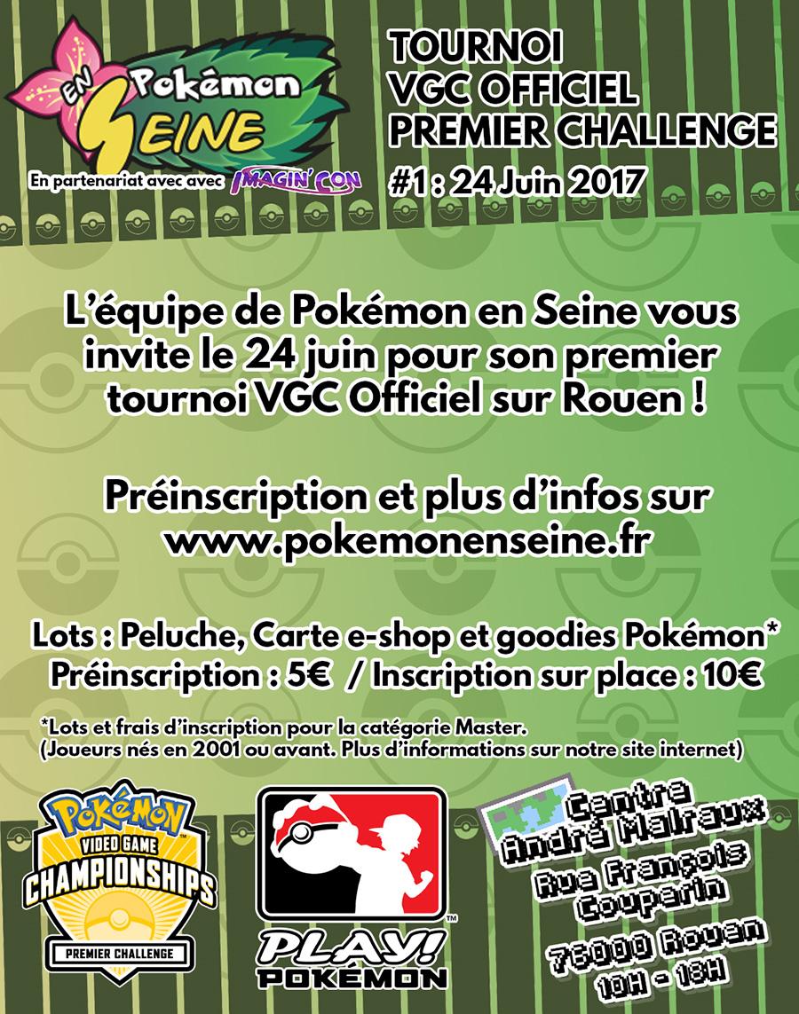 Tournoi VGC Pokémon en Seine le 24 Juin prochain