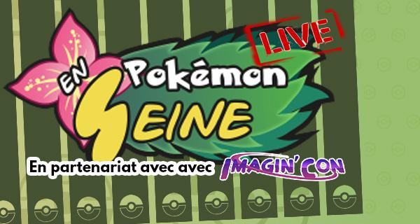 Diffusion en direct du Tournoi VGC de Pokémon En Seine le 23 Septembre par Pokekalos !