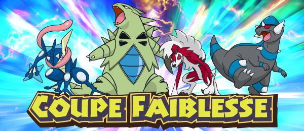 Coupe Faiblesse Pokémon Soleil et Lune