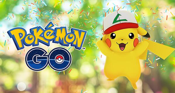 Évènement anniversaire de Pokémon Go